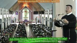 Tĩnh tâm Mùa Chay  NHÌN VÀO ÁNH MẮT CHÚA GIÊSU  tại GX Tân hà với Cha DCCT GIUSE NGUYỄN THỂ HIỆN  01