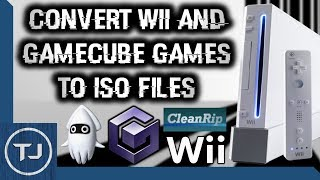 Convert GameCube & Wii Disc Games To ISO Files! Using Your Wii! (CleanRip)