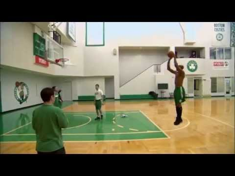 Ray Allen's Shooting Strategy