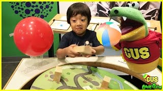 CHILDREN'S MUSEUM Pretend Play Gus and Ryan ToysReview! Kids indoor play area Children Activities