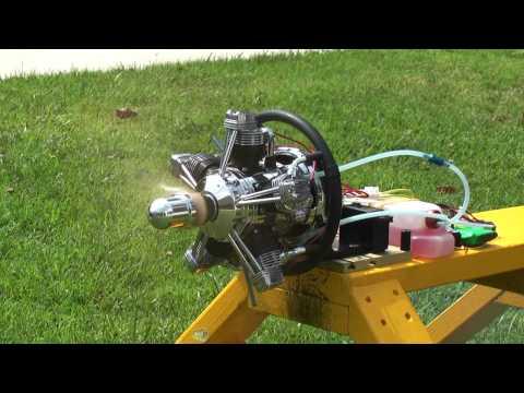 ASP FS400AR Radial Engine Part 3