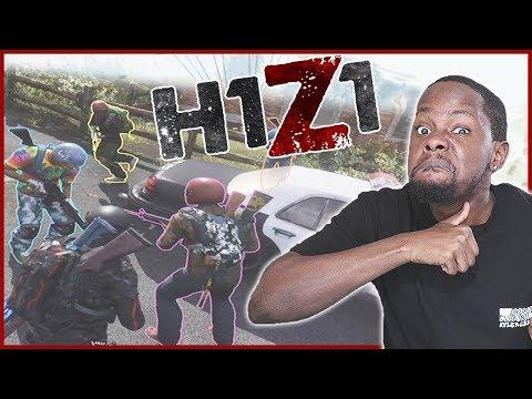 EPIC 4 TEAM MOUNTAIN GUN FIGHT! - H1Z1 King Of The Kill Fives   H1Z1 KOTK #13