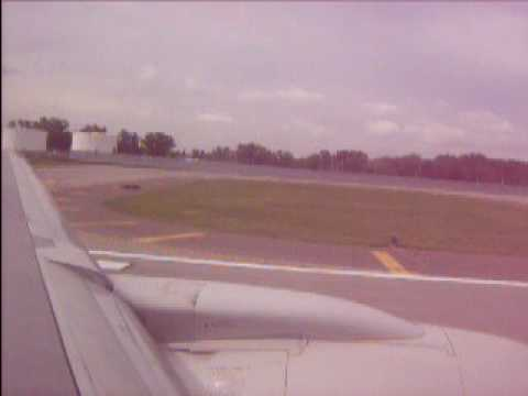 Delta Airlines (Northwest Airlines colors) 757-300 Takeoff Minneapolis-St. Paul