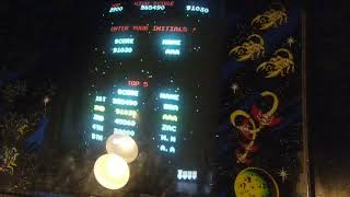 (Arcade) Galaga - 6.011.200 points by Mike Thompson (5 lives ONLY/ Rank D)