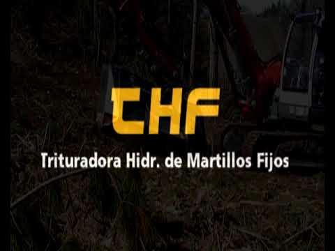 Trituradora forestal para excavadoras y retroarañas