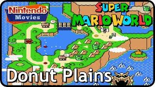 Super Mario World - World 2: Donut Plains (Multiplayer Walkthrough,  All Exits)