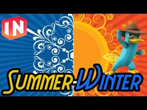 Disney Infinity: Toy Boxes - Summer-Winter