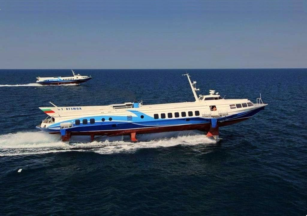 Hydrofoil Boat History Passenger Hydrofoil Boat