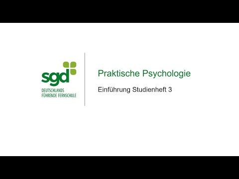 Praktische Psychologie     sgd-Fernstudium