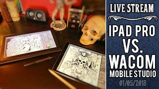 Wacom Mobile Studio Pro vs iPad Pro for artists - which is better?