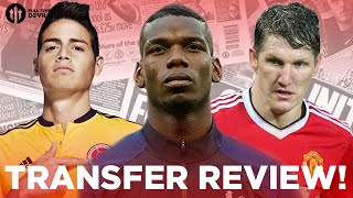 Paul Pogba, James Rodriguez, Schweinsteiger and More! | Manchester United Transfer News Review!