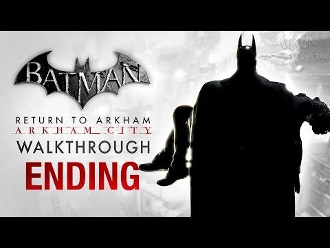 Batman: Return to Arkham City Ending - The Last Show