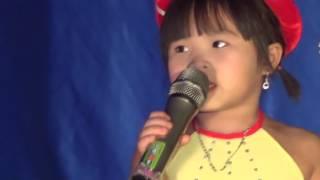 Bống Bống Bang Bang - Hà Anh 3 tuổi   Nhạc Thiếu Nhi Sôi Động 2017