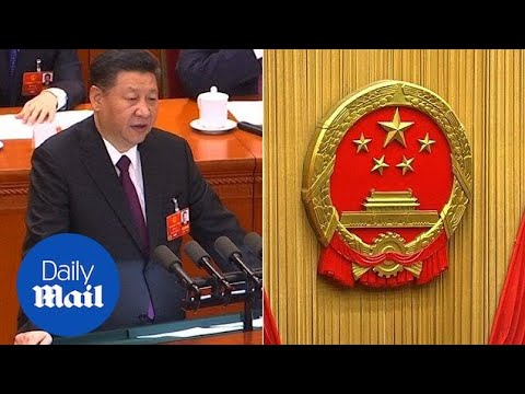 'Punishment of history': Xi delivers bold speech on unification - Daily Mail
