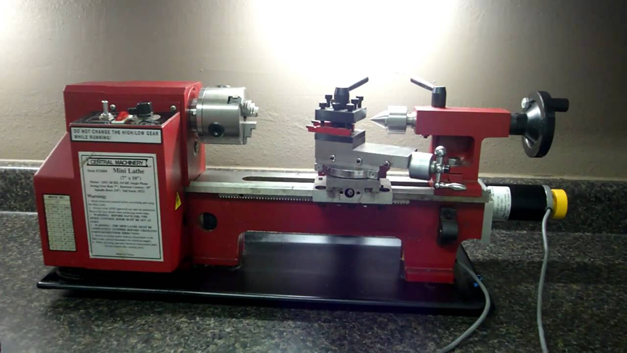 7x14 Lathe Cnc Kit Youtube