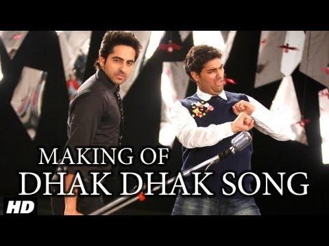 Dhak Dhak Karne Laga Song Making | Nautanki Saala video