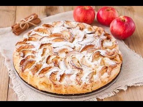 Яблочный пирог за 30 МИНУТ! Самый простой и быстрый рецепт!