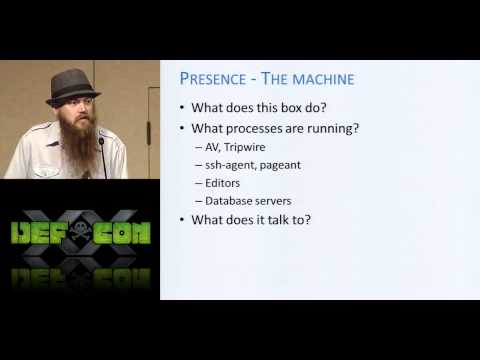 DEF CON 20 - egypt - Post Metasploitation Improving Accuracy and Efficiency