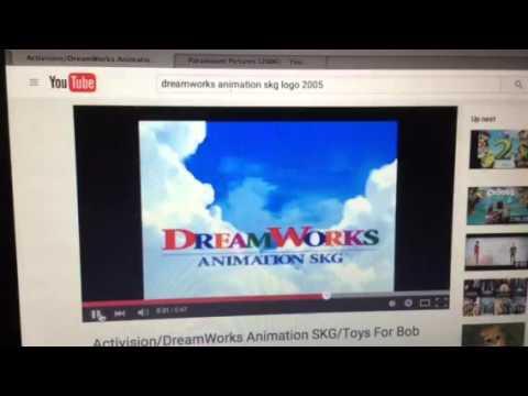 dreamworks animation skg logo 2 2004 shark tale variant