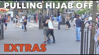 PULLING HIJAB OFF EXPERIMENT!! (EXTRAS)