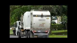 City of Detroit Garbage Trucks