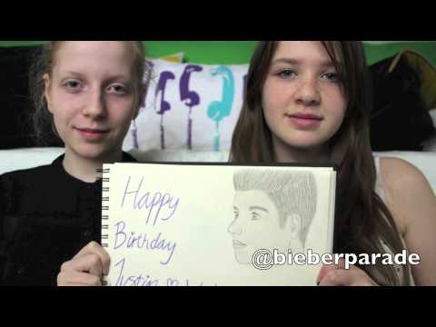 Happy 19th Birthday Justin Bieber from Denmark.
