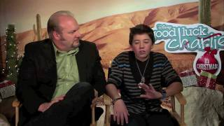 Eric Allan Kramer and Bradley Steven Perry talk about being Good Luck Charlie's Duncan Family