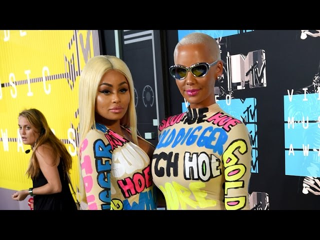 Amber Rose Explains Her 'Derogatory' VMA Outfit: 'We're Always Labeled as a Slut'