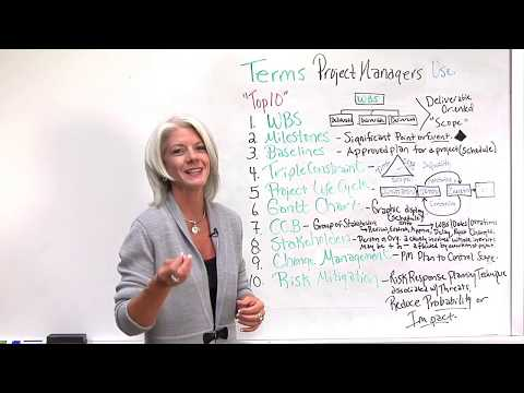 Top 10 Terms Project Managers Use