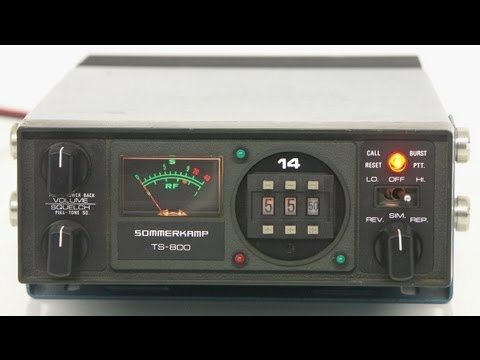 SOMMERKAMP TS-800, 50 Watt, VHF 