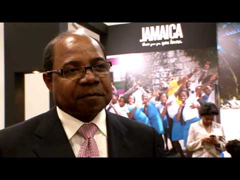 Edmund Bartlett , Minister of Tourism, Jamaica at PART 1 of  2 @ ITB 2010