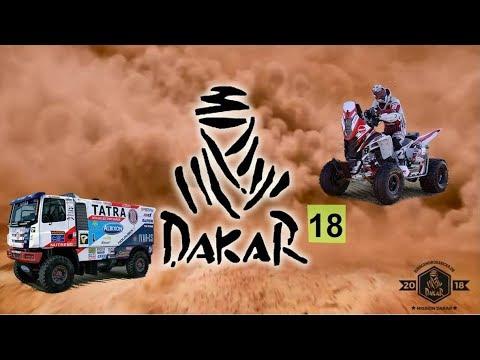 Dakar 18 геймплей графика Ралли Дакар 2018 гонки с открытым миром