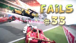 Racing Games FAILS Compilation #33