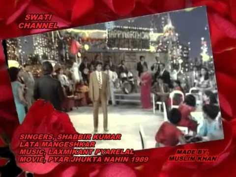 TUMHEIN APNA SAATHI ( Shabbir Kumar & Lata Mangeshkar )