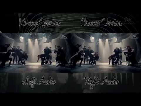 EXO - Wolf (Korean Chinese MV Comparison)