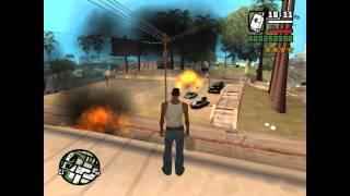 GTA San Andreas Loquendo: CJ y Sus Bombas Nucleares - 2 HD