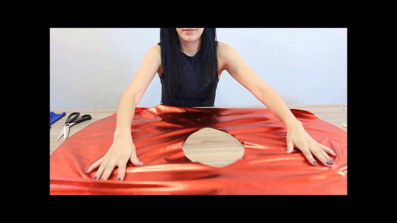 supergirl kost m selbermachen youtube. Black Bedroom Furniture Sets. Home Design Ideas