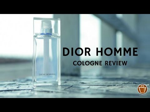 Dior Homme Cologne | Fragrance Review