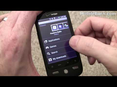 HTC DROID ERIS - unboxing and feature tour Video