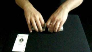 TOPSY TURVEY ACES - Andy Field Oxford Table Top Close Up Magician