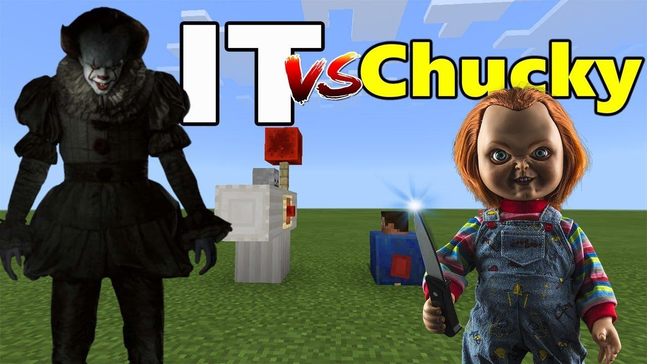 IT vs Chucky | Minecraft PE