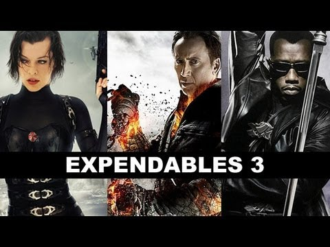 The Expendables 3 : Milla Jovovich, Jackie Chan, Wesley Snipes, Nicolas Cage - Beyond The Trailer video