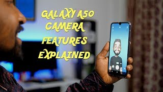 Samsung Galaxy A50 Camera Features and UI Explained in Hindi