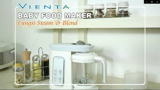 BABY FOOD MAKER - FUNGSI STEAM DAN BLEND