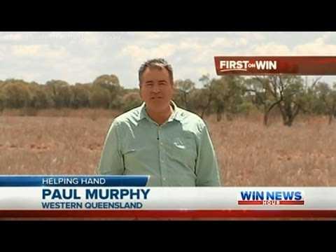 Qld Drought Coverage: Hay Drive (Part 2) - WIN News Rockhampton (2013)