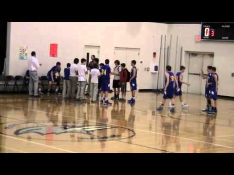 Jarryd's 1st win as head coach at Chestnut Grove Middle School