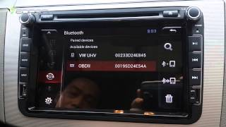 How to Connect the OBD2 to Eonon Android Car Stereo?