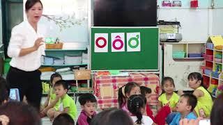 Hoạt động phát triển ngôn ngữ  - Làm Quen Chữ  - O,Ô,Ơ -   Mẫu giáo 04 tuổi
