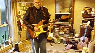 Christmas Jump(er) Blues in C - 1962 Fender Stratocaster