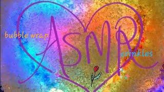 ASMR~ Bubble Wrap Crinkles